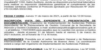 """Audiencia Pública cuyo objeto es el """"Tratamiento de la candidatura para el cargo de titular de la Oficina de Integridad Pública""""."""