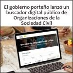 Buscador Digital Organizaciones de la Sociedad Civil