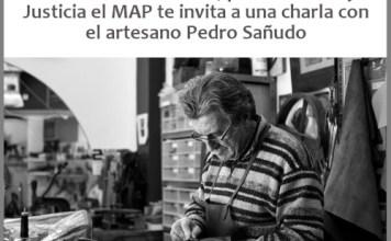 Charla en el MAP por el Día de la Memoria con elartesano Pedro Sañudo