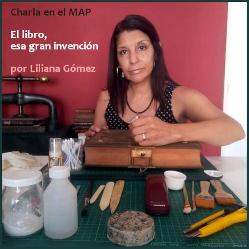 Charla en el MAP sobre conservación y restauración de libros