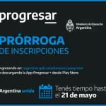 Becas Progresar se prorrogó la inscripción hasta el 21/05/21