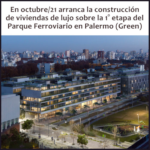 Sens Luxury Homes se construirá en el corredor verde de Juan B. Justo