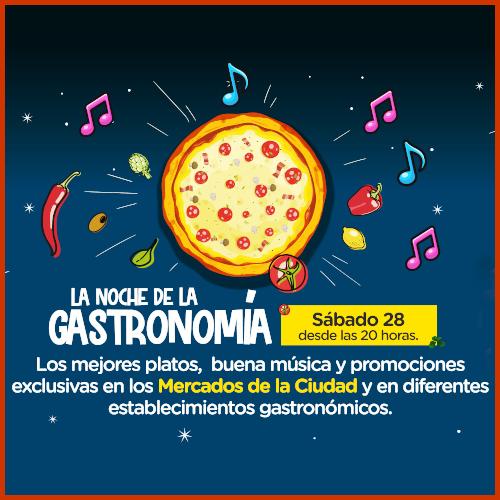 La 4° edición de la Noche de la Gastronomía es el sábado 28/08