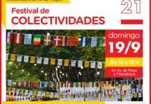 El 19/09 más de 30 colectividades van a celebrar el Día del Inmigrante en Av. de Mayo