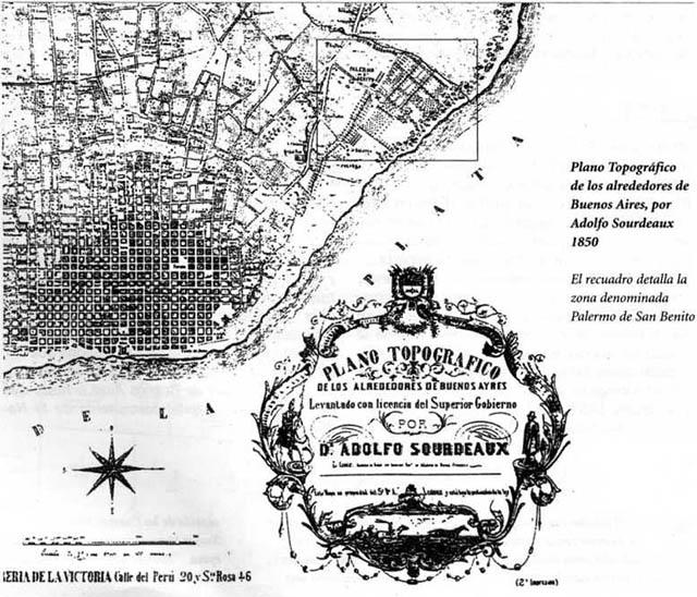Cronología - Plano Topográfico de los alrededores de Buenos Aires