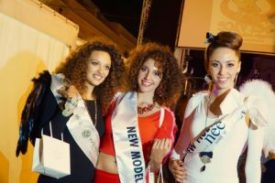 Da sinistra: Roberta Riccobono,  Manuela Bruno, Giulia D'Amico