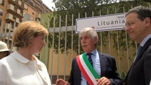 Jolanta Balčiūniené Emilio Arcuri vice presidente Giuseppe Lupo 1