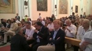 I sindaci di Palermo Leoluca Orlando e di agrigento calogero Firetto