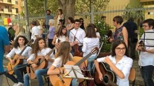musicisti studenti Galileo Palermo Vinius