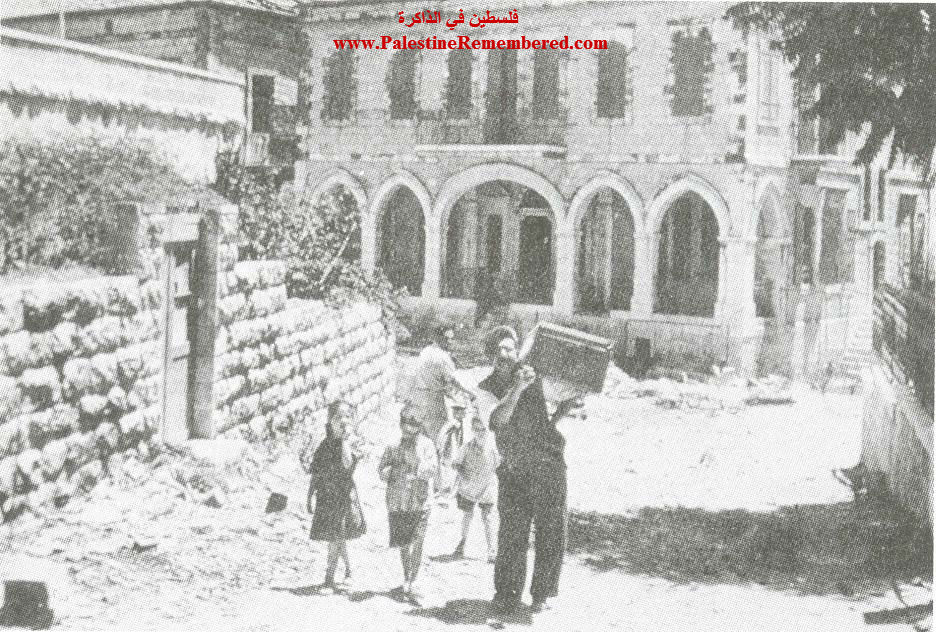 Image result for jews looting palestinian quarter