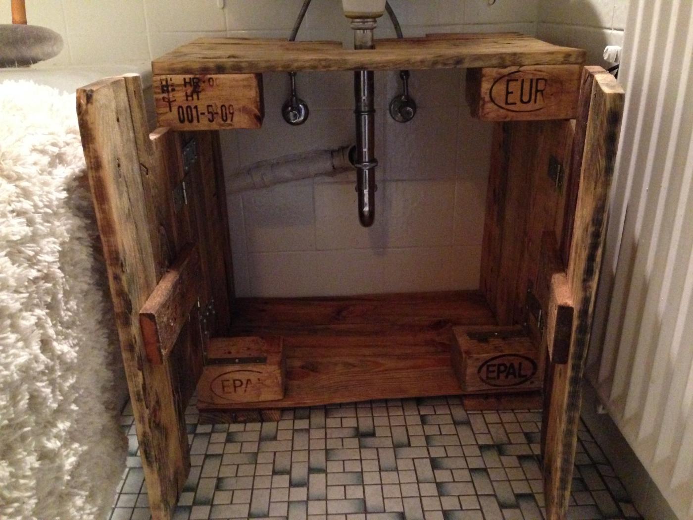 Badezimmerschrank Waschbecken Unterschrank Aus