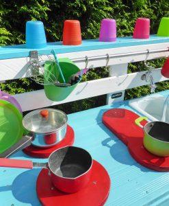 Behindertengerechte Kinderküche Matschküche (3)