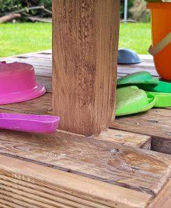 Palettery Paletten Sandkasten Kinder 12