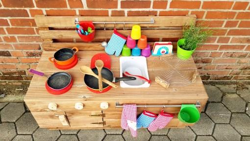 Matschküche Kinderküche LTKO aus Paletten Möbel Holz (5)