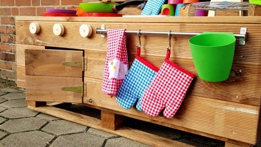 Matschküche Kinderküche LTKO aus Paletten Möbel Holz (6)