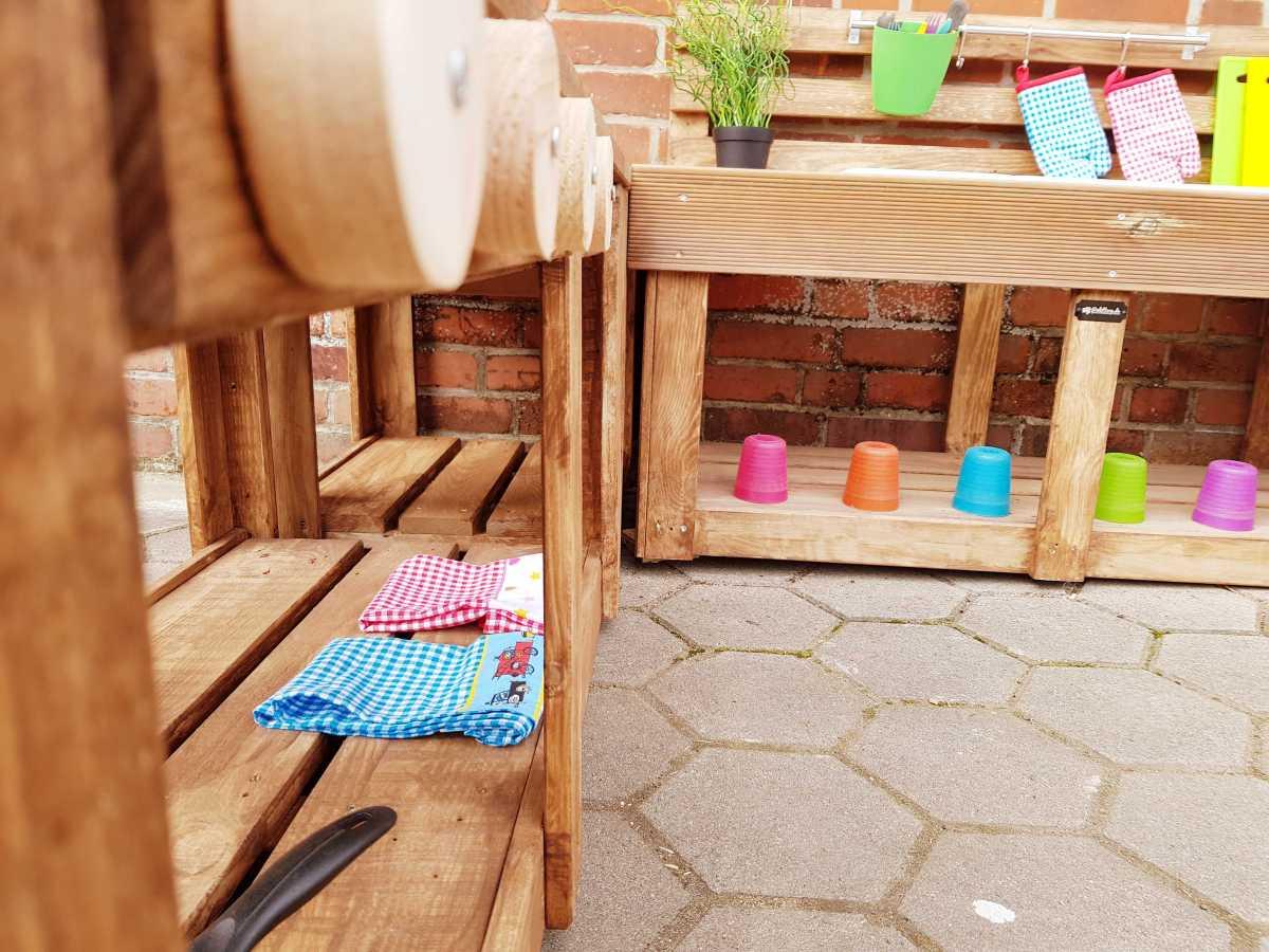 Matschküche Kinderküche Aus Paletten Holz Xlmp 1 8