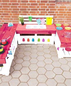 Matschküche-Kinderküche-aus-Paletten-Holz-XLMP-bunt-rot