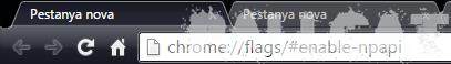 Problemes amb Java i Google Chrome