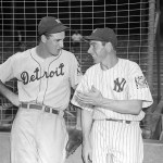 Joe DiMaggio and Hank Greenberg