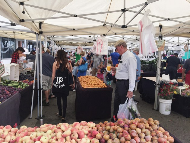The Swarthmore Farmers Market will have to move for two years.