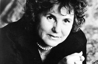 Carolyn See in 1995. Photo: Marilyn Sanders/Random House