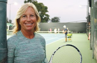 Mary Pat Farley is Riviera Country Club's new director of tennis. Photo: Remi Feldman-Garden