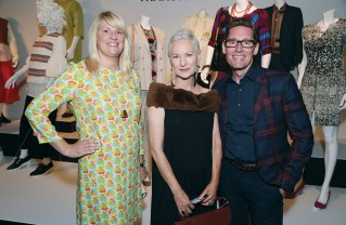 Emmy-nominated costume designers Marie Schley (Transparent), Lou Eyrich (American Horror Story) and Daniel Lawson (The Good Wife) attended opening night of FIDM's 10th Annual Art of Television Costume Design exhibition on July 30.