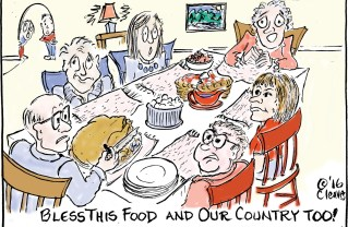 Bless This Food and Our Country Too!