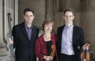 Chatham Baroque members Scott Pauley, Patricia Halverson and Andrew Fouts.