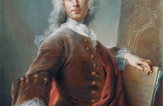 Self-Portrait; Charles-Antoine Coypel (French, 1694 - 1752); 1734; Pastel on paper; 98.1 × 80 cm (38 5/8 × 31 1/2 in.); 97.PC.19