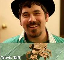 Travis Taft. Credit: https://www.westlacommunitycoalition.org/events/2018/2/10/origami-workshop-with-travis-taft-for-the-whole-family