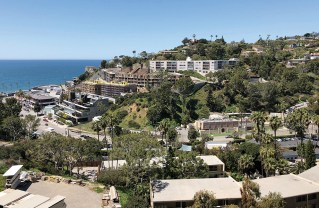 On a hillside above Sunset, developer G.H. Palmer's Sea View Condos, at 17235 Tramonto Dr., will have 29 units. Higher up the hill, at 17331 Tramonto, co-developers Etco Homes and Taylor Morrison are building 53 units (now called One Coast, formerly Tramonto Landmark). A traffic study was done in 2002 and reported the intersection of PCH and Sunset Boulevard was operating at over-capacity during the a.m. peak hour. How will traffic be impacted 16 years later?