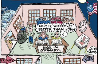 Cartoon: Only 12 Voters?! Better Than 2016!
