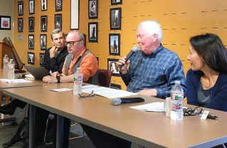 (Left to right) Terry McCarthy, John Harlow, Bill Bruns and Maryam Zar.