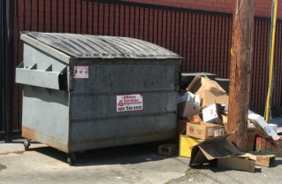 Palisades Chamber Halts Trash Clean-Up