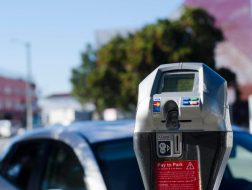 Under a new pilot program, 15 percent of funds generated via parking meters in Pacific Palisades will be given back to the community. Photo: Sam Catanzaro.