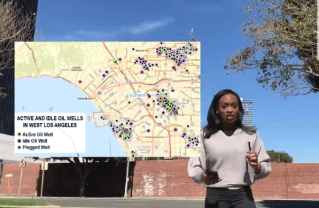 Learn about active oil wells on the Westside. Photo: Edify TV.
