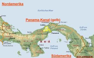 Bildergebnis für PANAMAKANAL