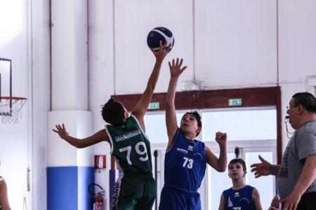 3° Epiphany Basket - Matteo Perriello, Palla a due
