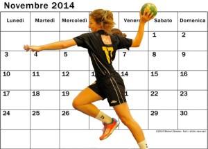 Calendario Pallamano Oderzo 2DF Girone C