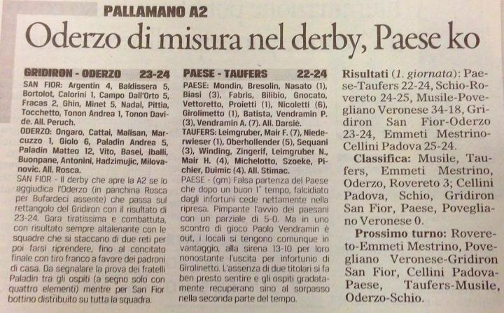 gazzettino tv 14.10.2015
