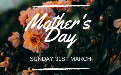 Mothering Sunday – 31st March 2019