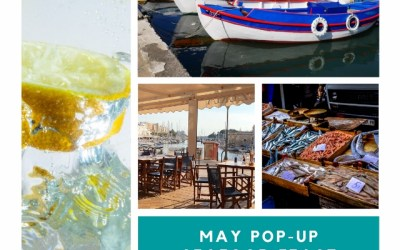 May Pop-up Dinner – Friday 31st