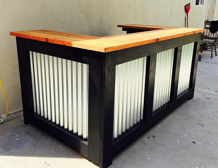 Do It Yourself Outdoor Bar