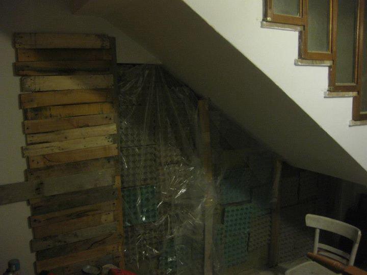 DIY Pallets Wood Wall Work Project Pallet Ideas