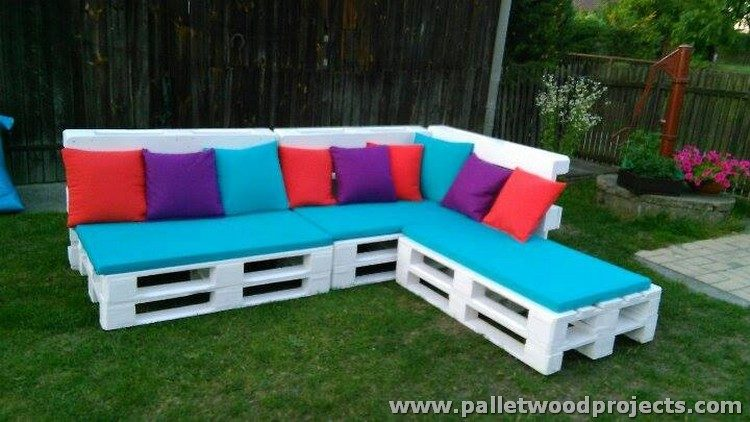 diy pallet sectional sofa pallet wood