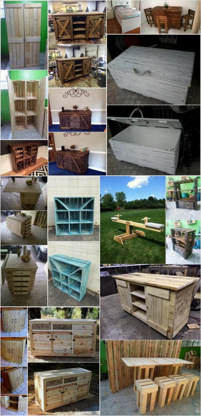 15 Amazing Wood Pallet Projects for This Summer
