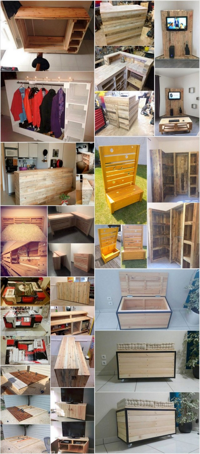Awesome Projects that Transform Wood Pallets into Useful Things