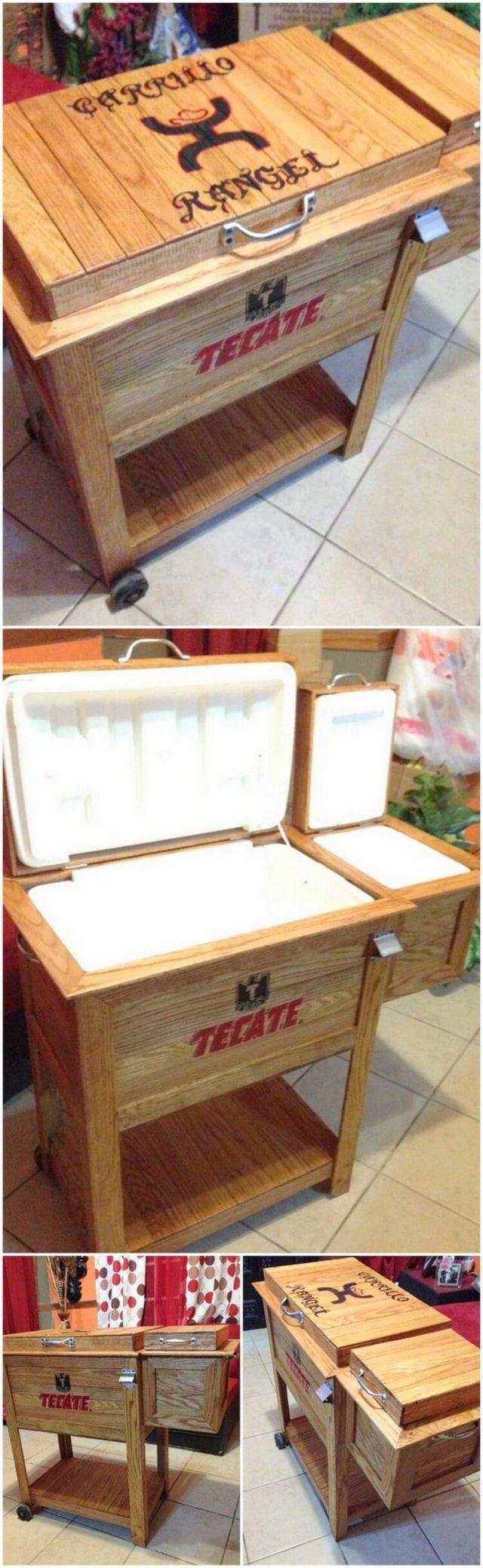 Wood Pallet Cooler (2)