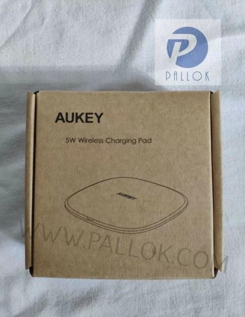 aukey caricatore wireless scatola